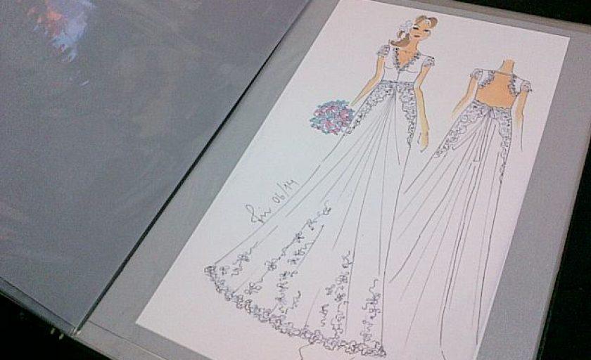 Desenvolvendo meu vestido de noiva